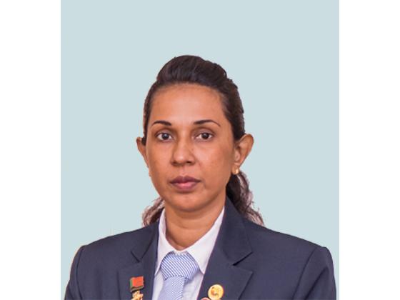 Sensei A.C Shiroma Fonseka -  Sri Lanka