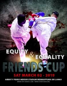 SRI LANKA FRIENDS CUP 2019